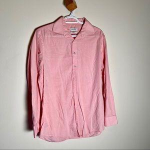 Calvin Klein Dress Shirt Pink Long Sleeve